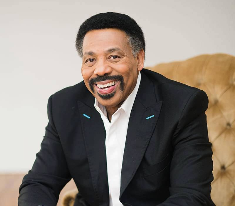 Image of Tony Evans, Senior Pastor of Oak Cliff Bible Fellowship, founder and president of The Urban Alternative, and best-selling author